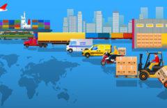 Transporte y seguros para la exportación internacional