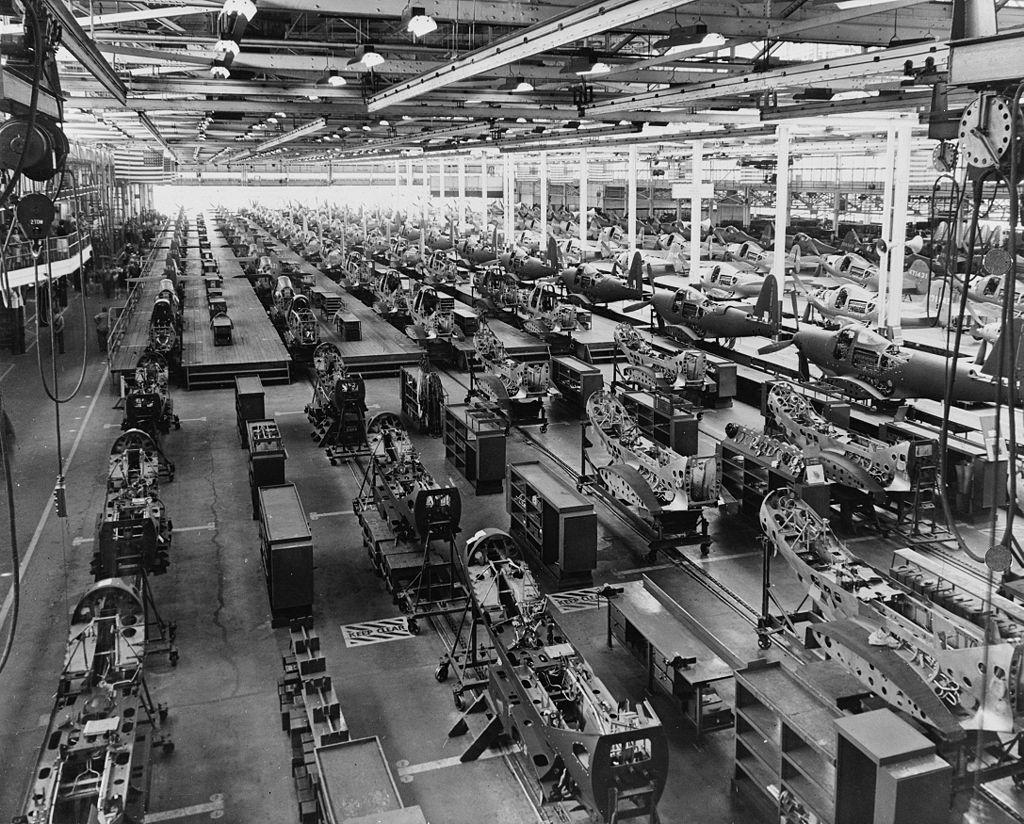 Sistemas de producción industrial