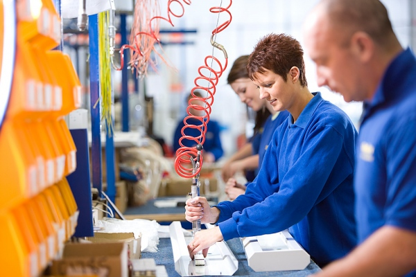 métodos de producción industrial