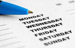 Cadena competitiva = planning semanal