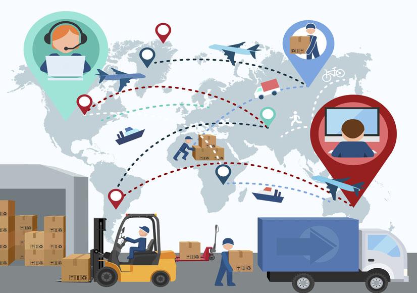 cadena de suministro dinámica