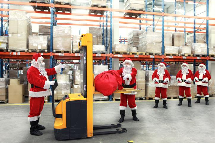 Navidad y logística