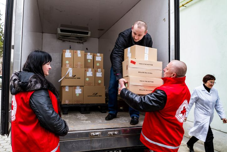 logistica humanitaria