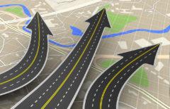 Hoja de ruta de transporte de mercancías en tiempo real