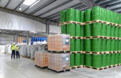 Almacenamiento de productos químicos: cómo evitar derrames